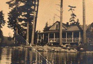 Ten Eyck Camp on North Point