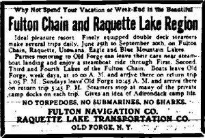no sharks no torpedoes utica daily press 7 29 1916