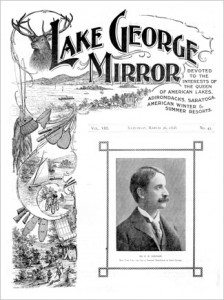 1898 Lake George Mirror cover