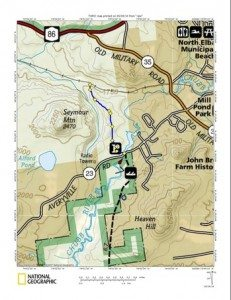 Rail Trail With Northville Placid Trail Connection Map