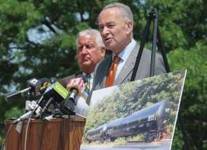 US Senator Charles Schumer (Photo by Paul Buckowski - Courtesy Albany Times Union)