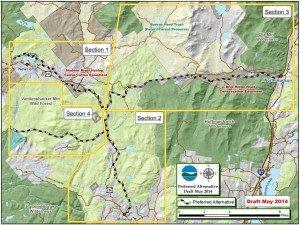 Connector Trail Preferred Route