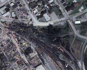 Oil Train Explosion