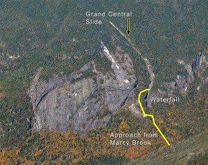 Mt. Marcy Grand Central Slide