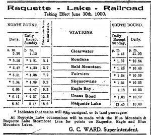 raq lak rr adirondack news ad 1900