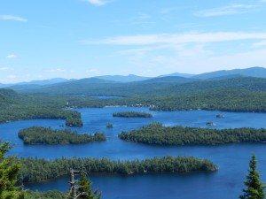 Blue Mountain Lake from Castle Rock (9)