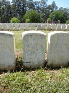 Rollin O Sanford's grave in Andersonville, GA