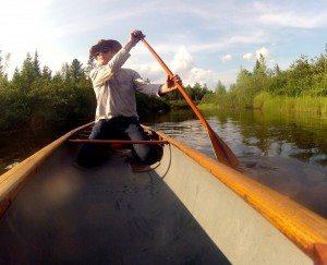 Marty Plante on the Boreas River