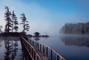 Mist Rising on Osgood Poond