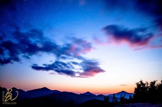 Moonset Big Slide