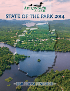 Adirondack Council State of the Park 2014