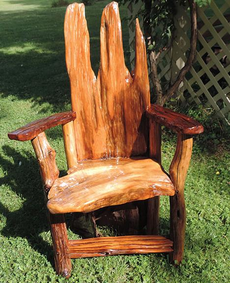 Rustic Furniture Fair This Weekend, Adirondack Rustic Furniture