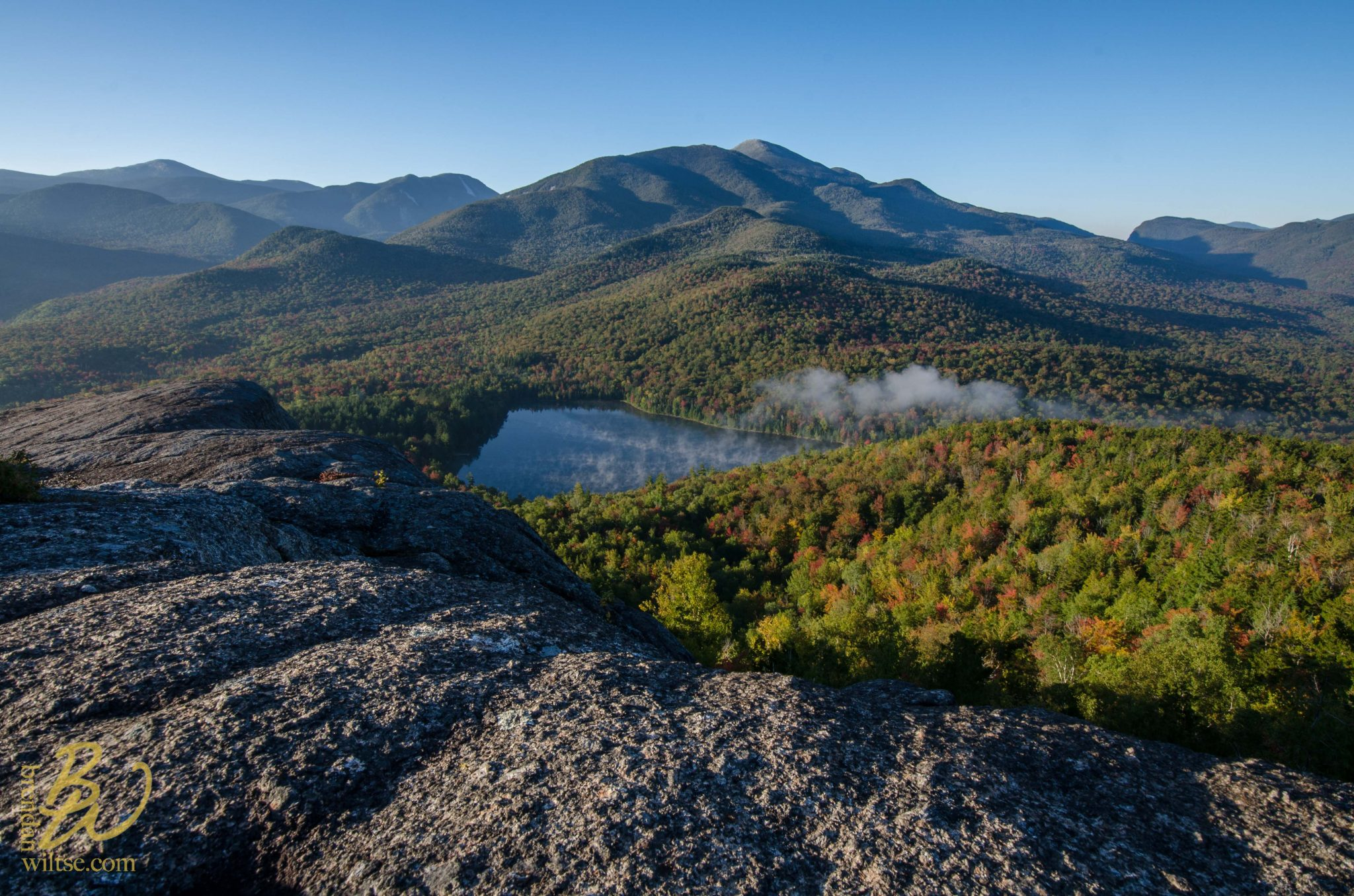 Early Fall Foliage From Mount Jo The Adirondack Almanack