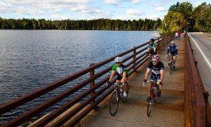 Cycle Adirondacks Rivers Along Fish Pond
