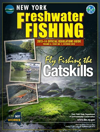 2013 14 freshwater fishing regs extended thru march for New york fishing license online