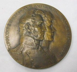 O7-252-A_Medal,_Commemorative,_Battle_of_Plattsburgh,_War_of_1812,_Obverse_(4627445728)