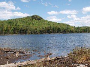 Peaked Mountain Lake
