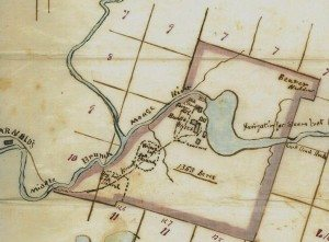 1870 buell map early forge house
