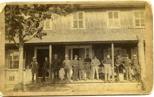 1880 front porch forge houseP323A