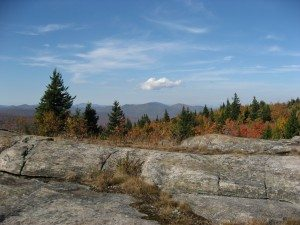Views from the summit of Hadley Mountain