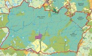Adirondack National Park Larger