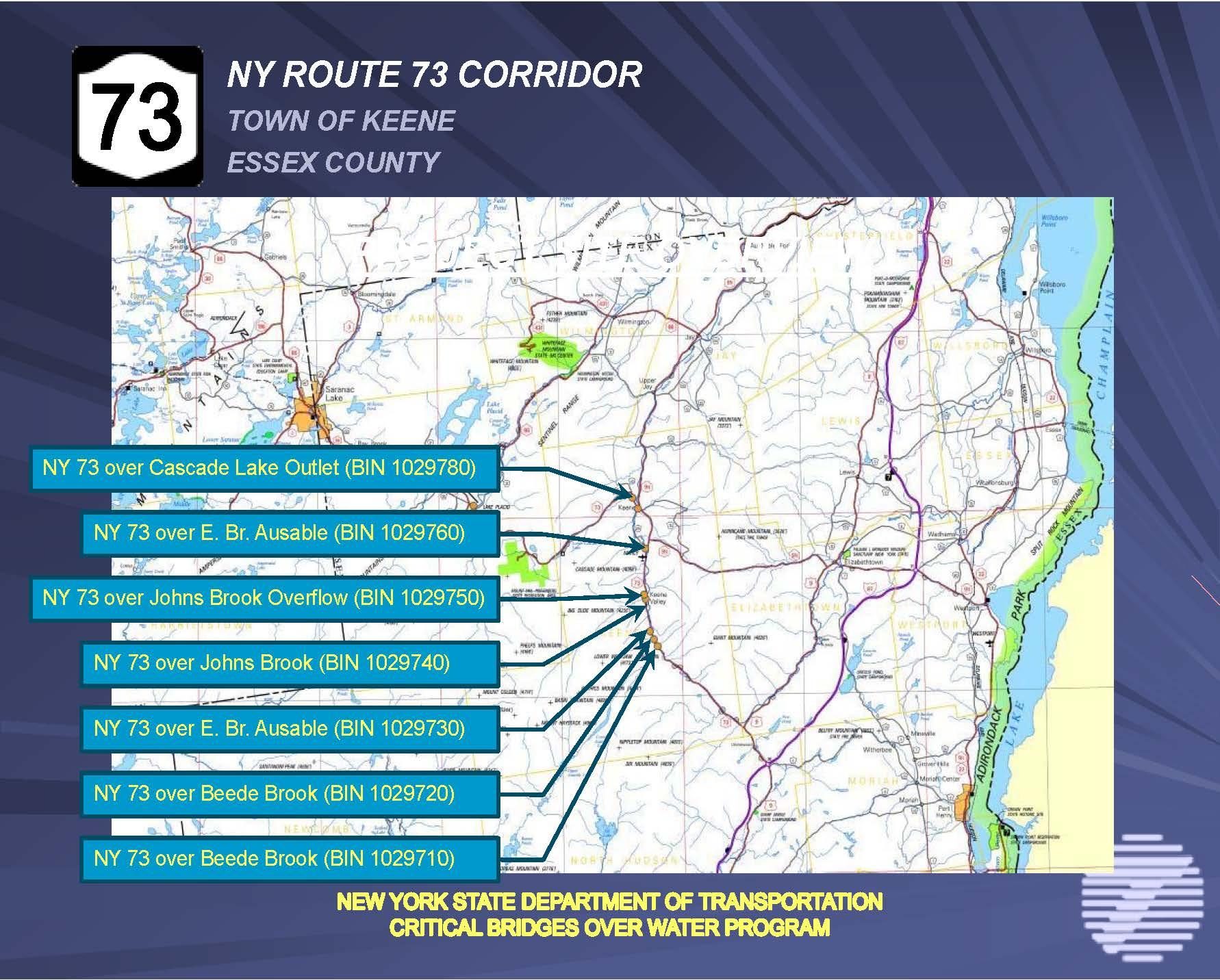 New york essex county keene - Eight Bridges To Be Repaired In Keene Area