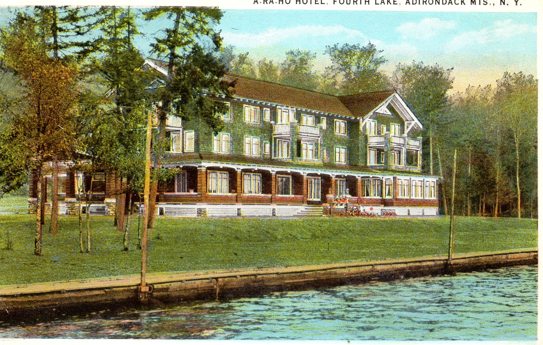 The O Haras Operated Hotel Until 1933 Management Of Both New Arrowhead And Ara Ho In Depression Forced Charles Hara To File For