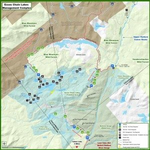 Essex Chain Lakes Complex Map Dec 2014