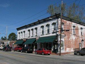 Main Street Buildings in Westport