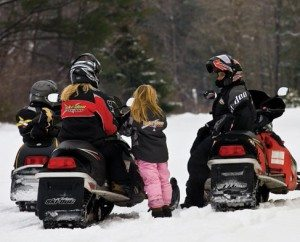 snowmobiles photo by Nancie Battaglia