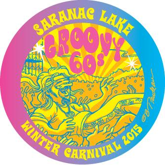 2015 Saranac Lake Winter Carnival Button