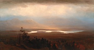 Homer Dodge Martin (1836-1897), Mountain View on the Saranac, 1868