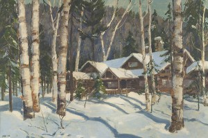 Jonas Lie (1880-1940), Main Camp, Kamp Kill Kare, 1930