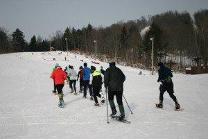 snowshoe race