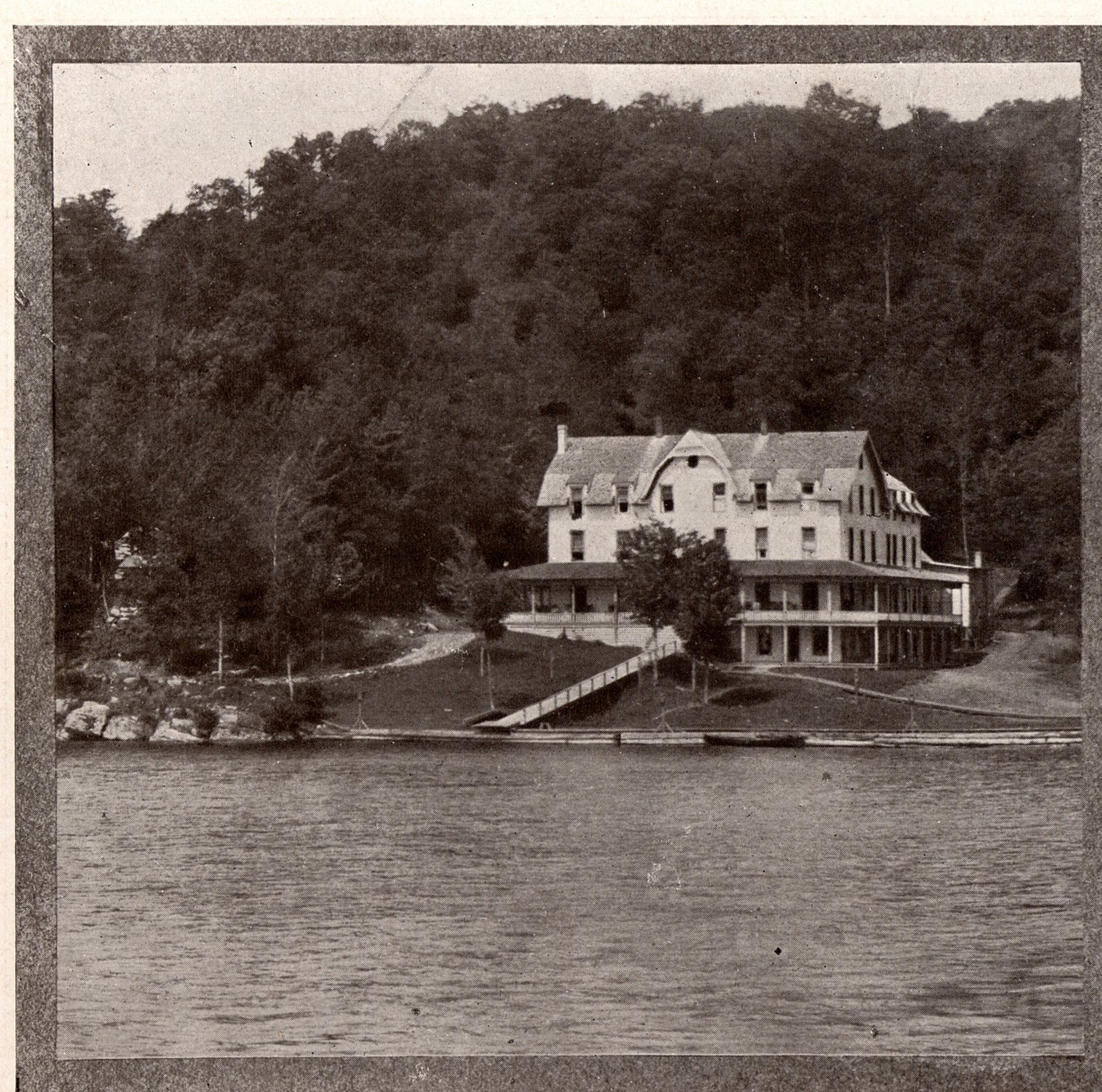 History Seventh Lake, Inlet and Its Hotel (Part II) - - The