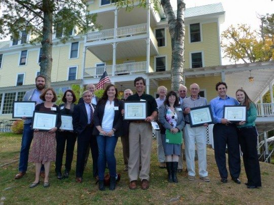 014 Preservation Award Winners at the Woods Inn, Inlet