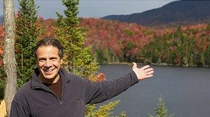 Andrew Cuomo in the Adirondacks