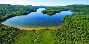 Follensby Pond by Carl Heilman II