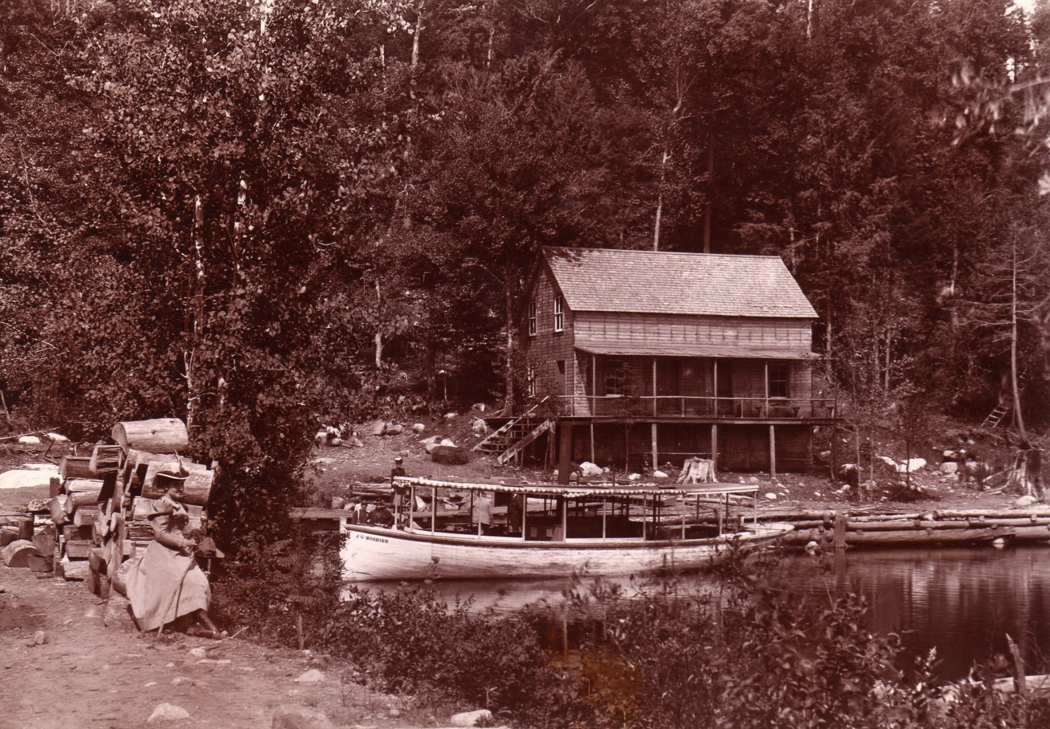 The Early History Of Seventh Lake - - The Adirondack Almanack