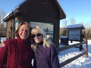 liftees at Newcomb ski hill