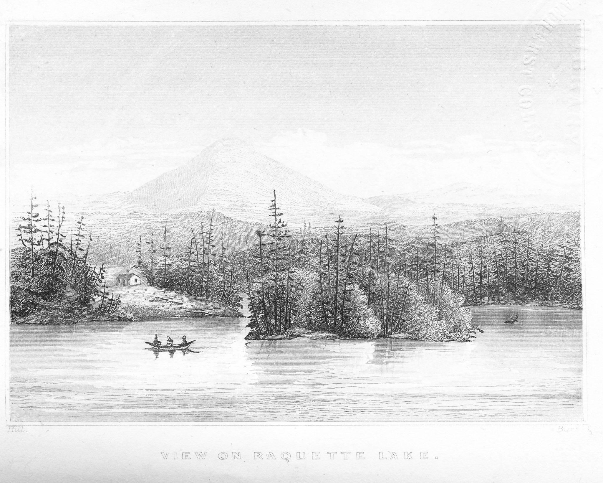 Ebenezer Emmons And Raquette Lake