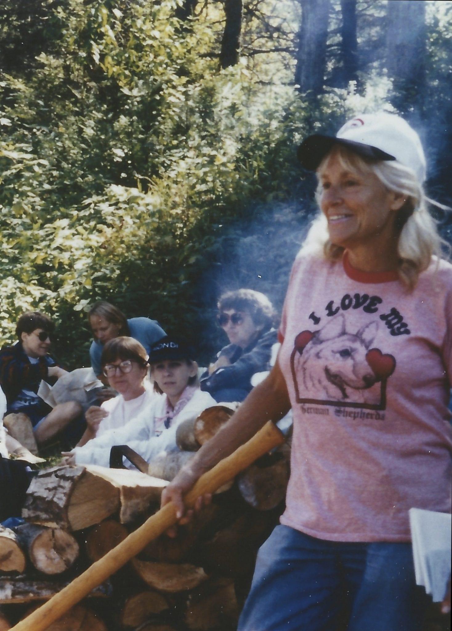 Anne LaBastille at Sagamore (courtesy Lorraine Duvall)