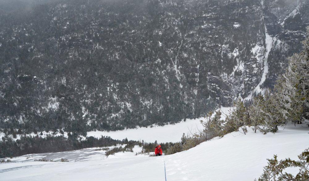 Winter Mountaineering: Mt. Colden's Wine Bottle Slide
