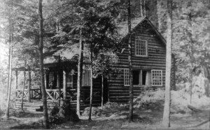 Platt's cabin on Birch Point August, 1901
