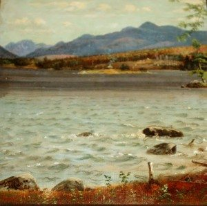 View from Birch Point by Moore Detail