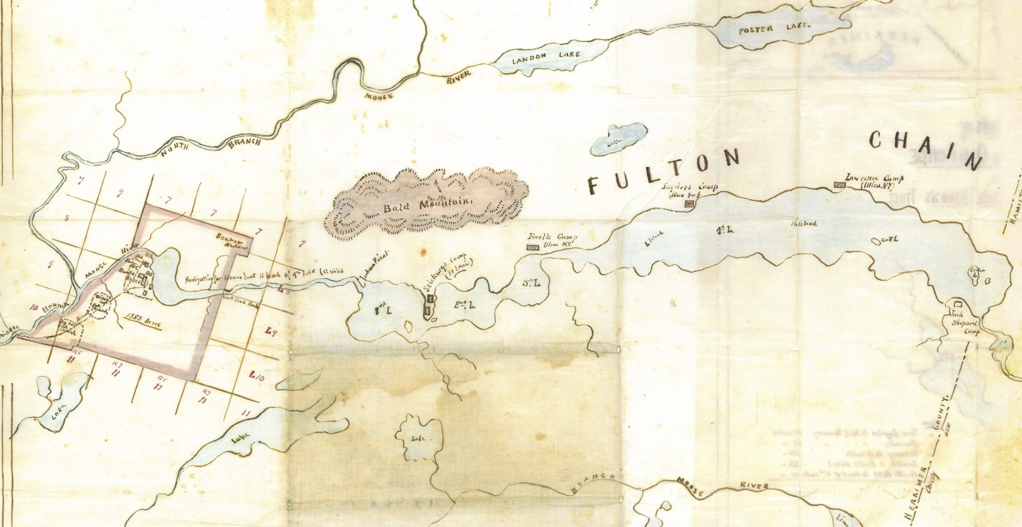Fish tales first stocking of the fulton chain 1876 for Fish stocking near me