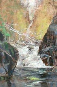 IB 2001 the same river twice ac 36x24 with text
