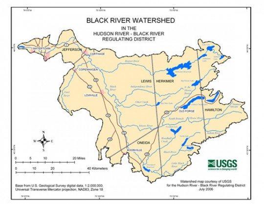 black river watershed