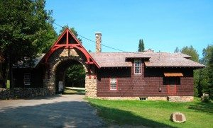 Great Camp Gate House Santanoni
