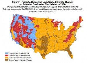 EPA Climate Change Map